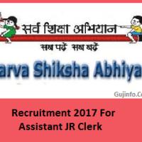 Rajasthan SSA Recruitment 2017