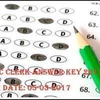 WBSSC Clerk Answer Key 2017
