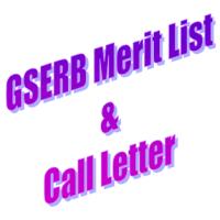GSERB Merit List