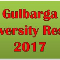 Gulbarga University Result 2017