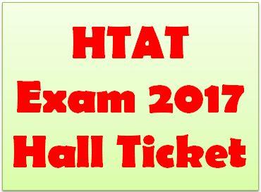 HTAT Hall Ticket