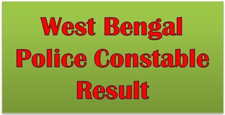 WBP Constable Result 2017