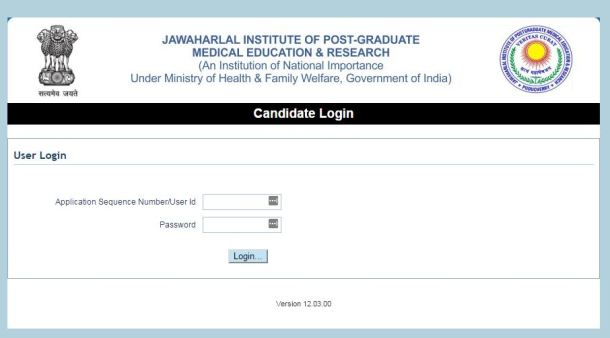 JIPMER Admit Card