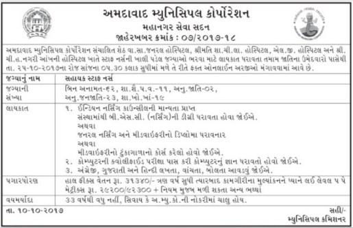 ahmedabadcity.gov.inrecruitment