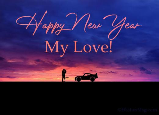 happy new year images for lover