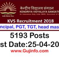 kvs recruitment 2018