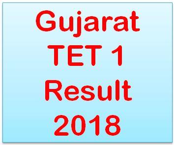 TET 1 Result 2018