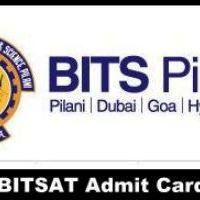 BITSAT Admit Card 2018