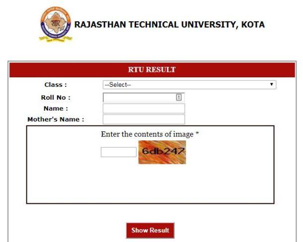 rtu result