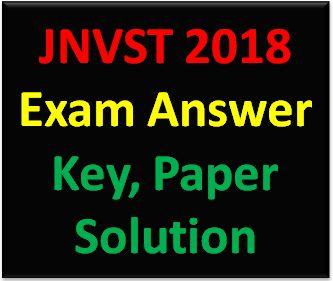 jnvst answer key