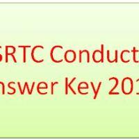 GSRTC Conductor Answer Key 2018