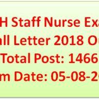 OJAS Staff Nurse Call Letter 2018