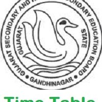 Gseb.org Time Table 2019