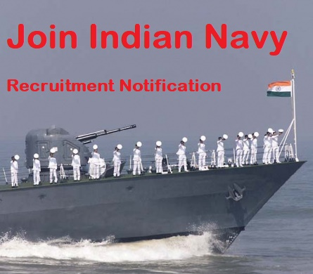 Join Indian Navy Recruitment