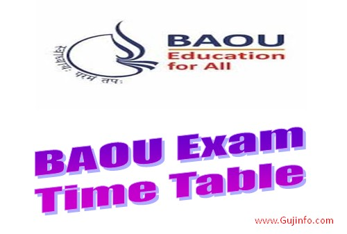 baou time table