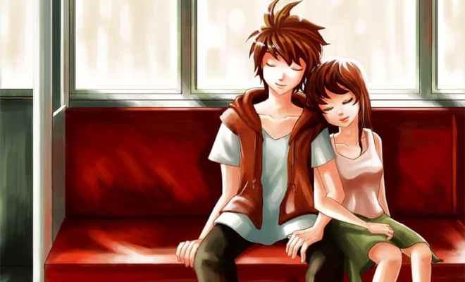 5 magnifiques dessins d 39 amour en style manga - Image dessin amour ...