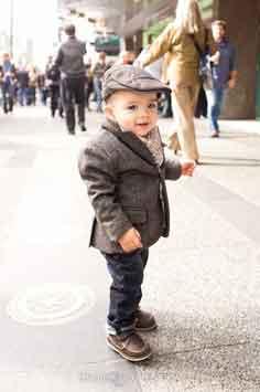 Bébé et déjà fashion
