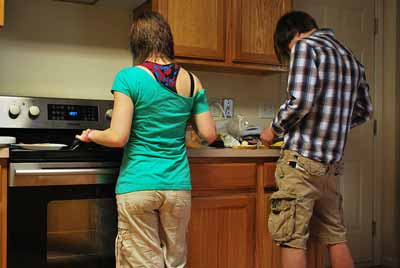 Cuisiner en couple