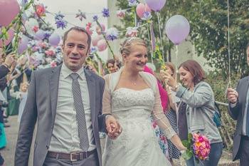 Couple qui se marie