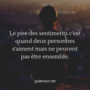 SMS amour impossible 3