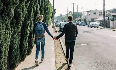 Couple qui passe du temps ensemble