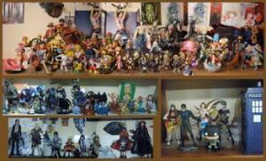 Une collection de figurines