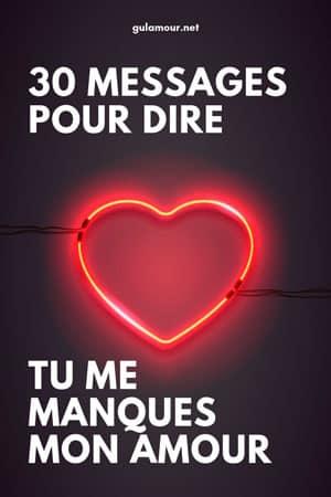 30 Sms Pour Dire Tu Me Manques Mon Amour Gulamour