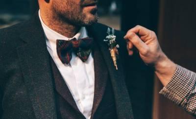 Accessoire de mariage pour homme