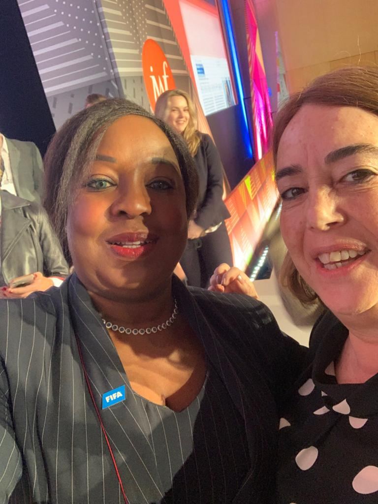Secretary General of FIFA, Fatma Samoura