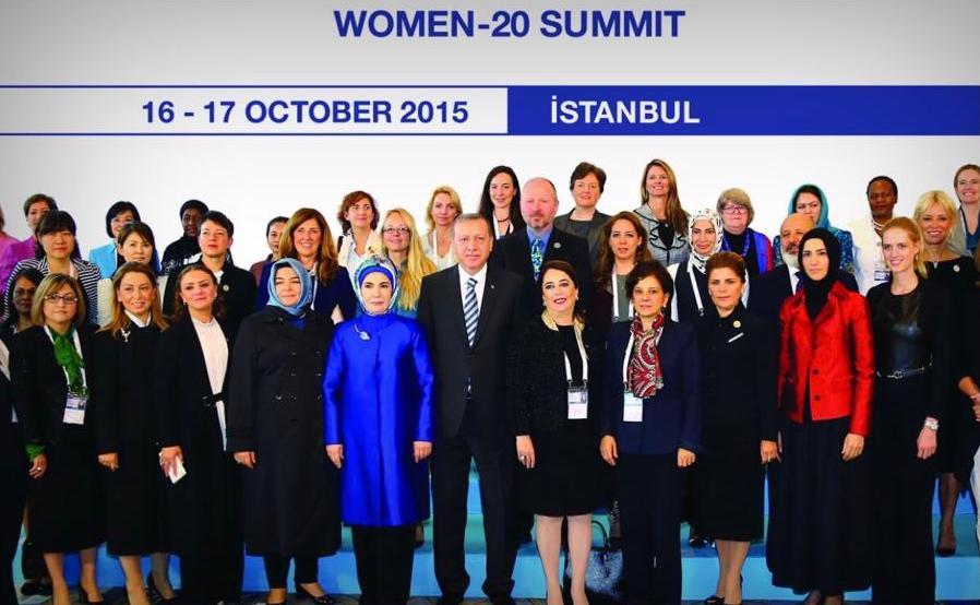 W20 Women-20 Summit İstanbul 2015