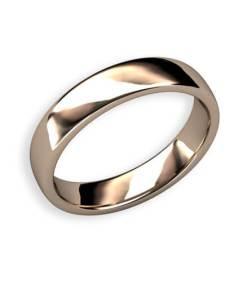 förlovningsring diskret svagt välvd