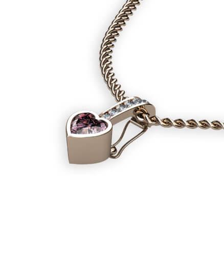öppningsbart hänge för slät ring eller vigselring