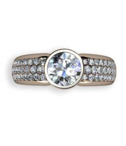 0.80 ct briljantslipad diamant