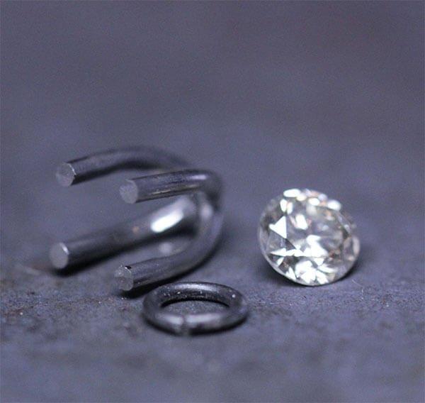 fattning och diamant