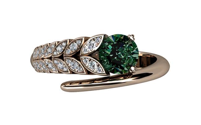 egen design diamantring