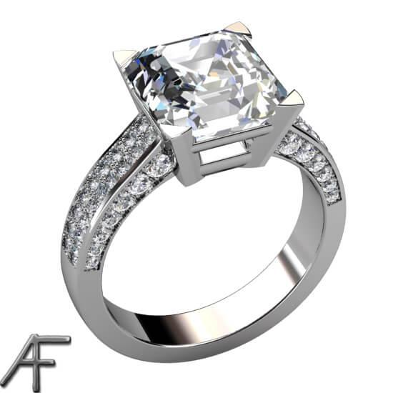 designa diamantring