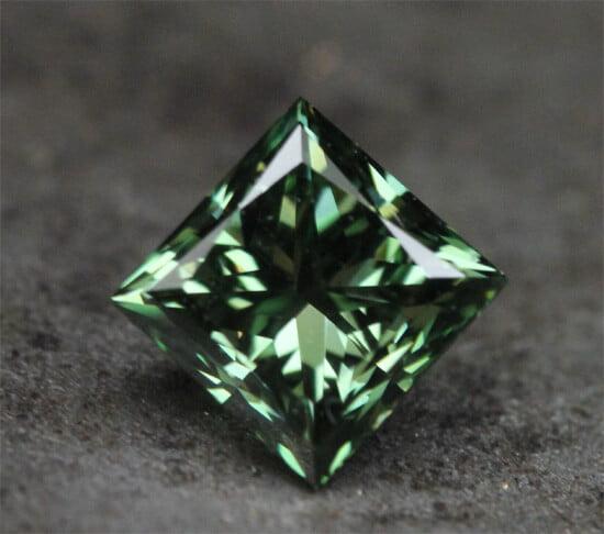 grön diamant