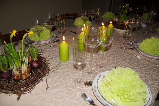 Forårs bordet