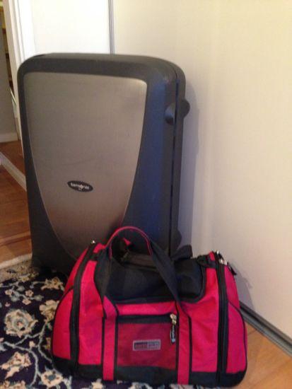 Kuffert og rejsetaske