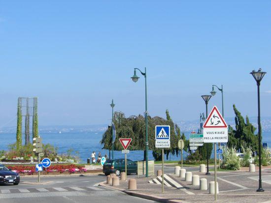 Rundkørsel i Evian