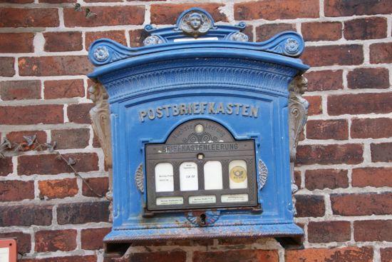 Postkasse i Frankrig