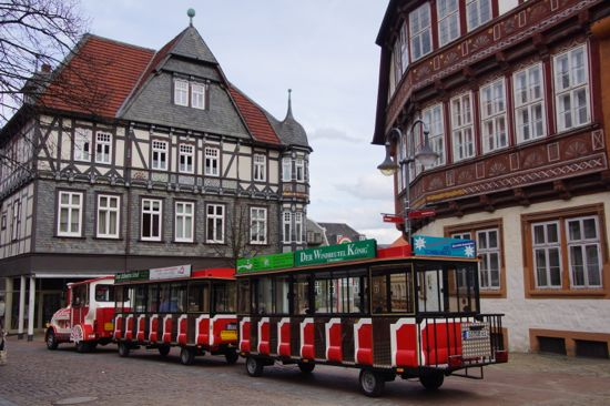 Byen Goslar i Hartzen