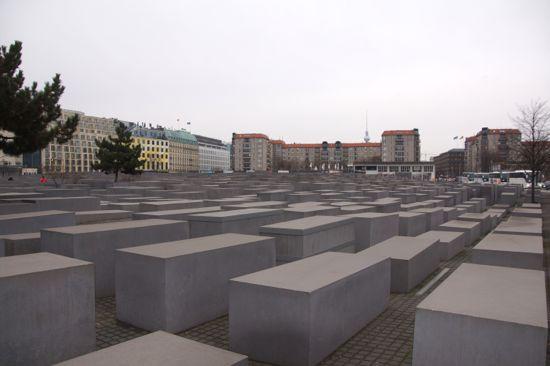 Holocaust mindesten i Berlin