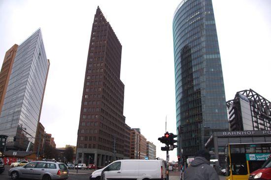 Potsdamer Platz i Berlin