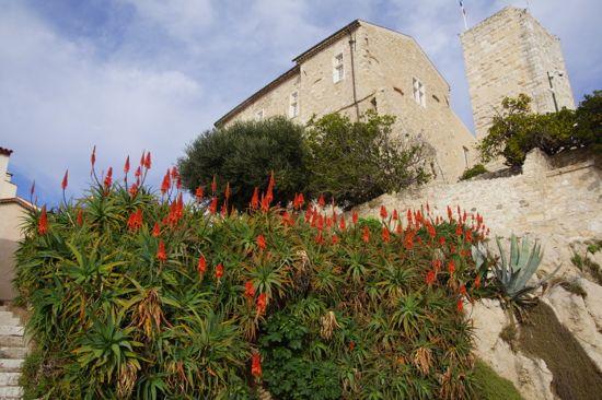 Picasso museet i Antibes i Frankrig
