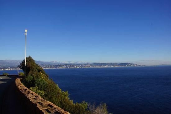 Kystvejen fra Cannes til St.Raphael