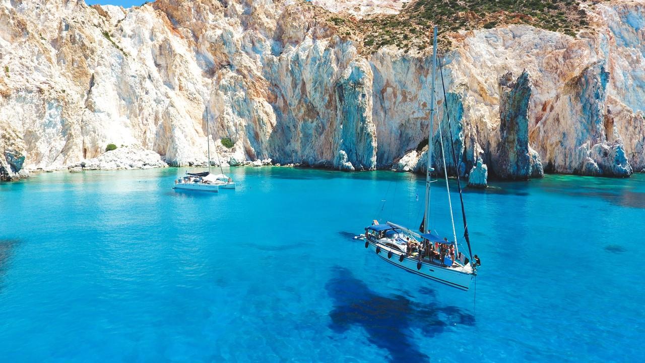 Milos Island Greece Greek Cyclades Islands