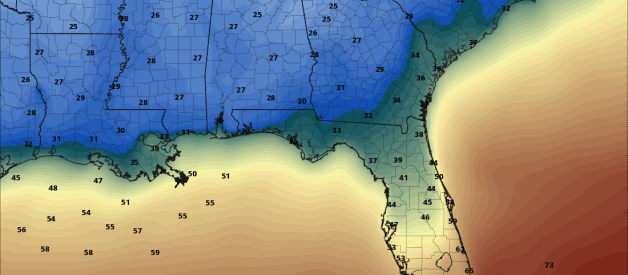 Drying out Tomorrow; Arctic Blast Late Week