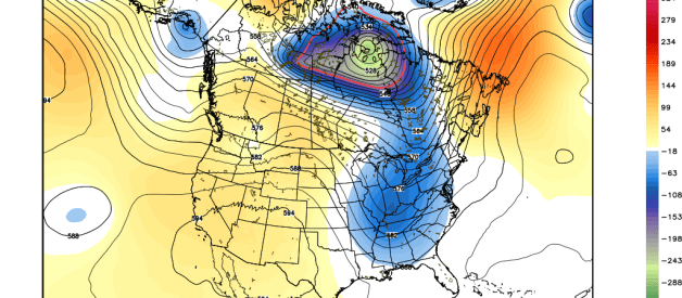 Another Trough Next Week; Cooler Than Average Temperatures Likely