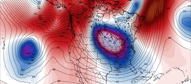 Major Arctic Outbreak Expected Next Week